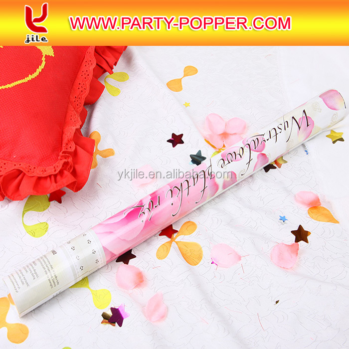 Party Supplies Type rose petal confetti shooter
