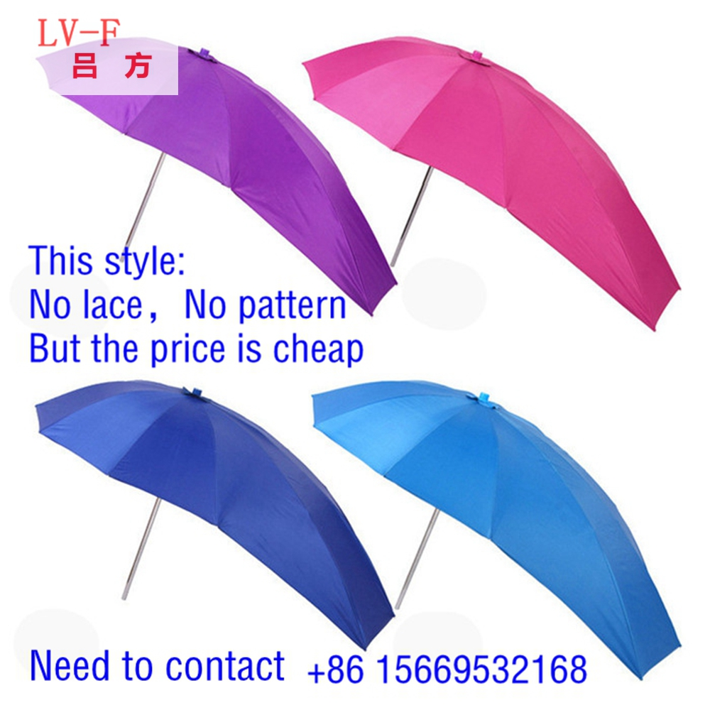 High quality new fashion durable Electric car scooter bike motorcycle rain umbrella