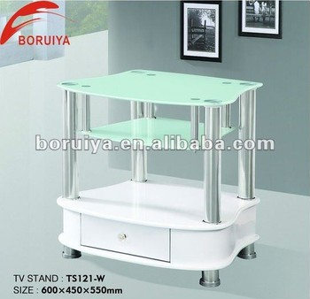 Top Glass Tv Table Support Steel Corner Brackets Tv Stand
