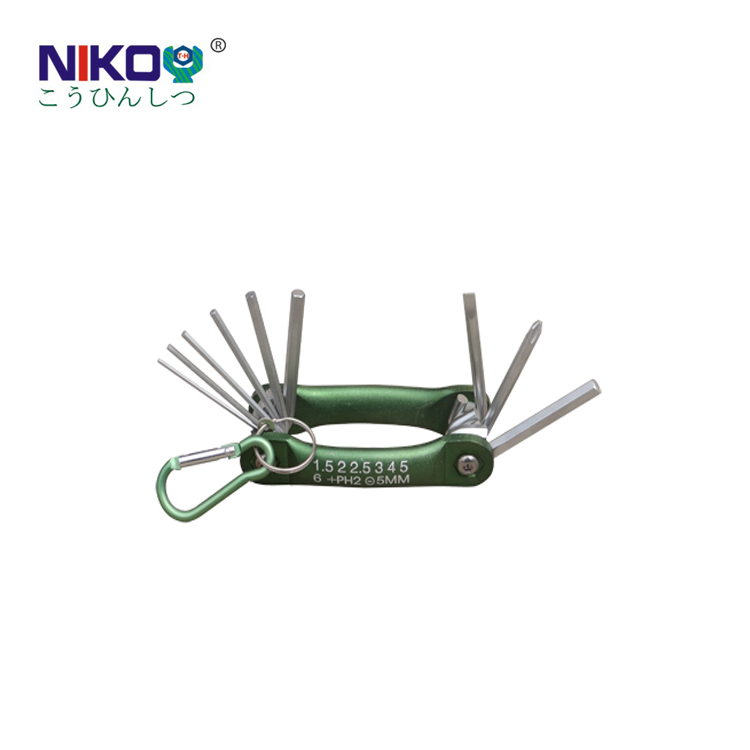 hand tools folding hex key wrench