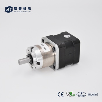 Nema 17 Stepper Motor with Gear Ratio 27:1, Planetary Gearbox, wholesale