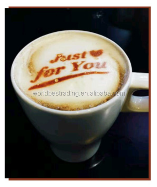 Full Smart Latte Art Coffee Drinks Printer Food Printer Chocolate Printer