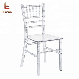 Clear Color Kids Chiavari Chair resin kids tiffany chair party used