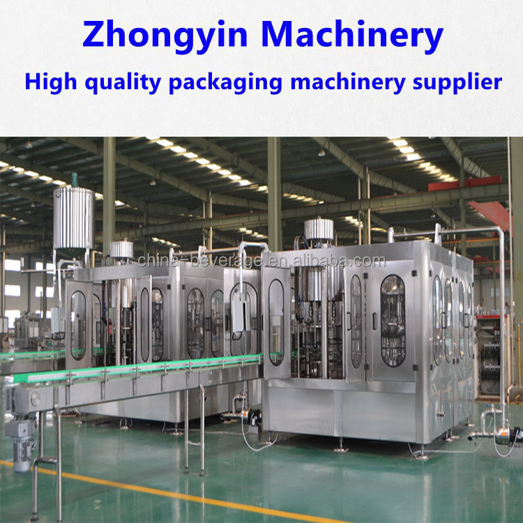 Jiangsu Zhongyin german standard pure water filling machine/mineral waterproduction line water production line water fil