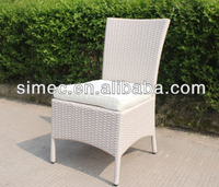 fashion design comfortable synthetic rattan chair