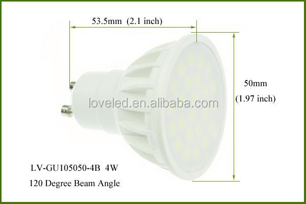 24 Smd 5050 High Power Dimmable Led Bulb Spot Light 340 Lumens 120 ...