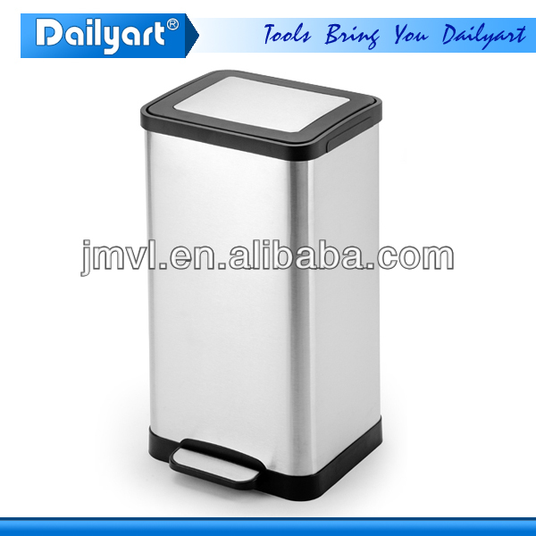 2015 Out Door Soft Close Recycling Pedal Dust & Ash Bin