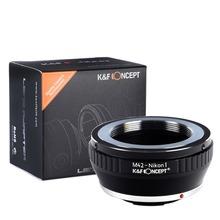 K&F Concept Lens Mount Adapter for M42 Lens to for Nikon 1 Mount Camera Adapter Ring for V-1 J-1 V1 J1