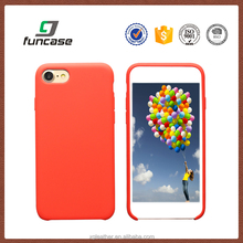 Original Packaging Red Liquid Silicone Case Cell Phone Silicone Case for iPhone 7 /7 plus