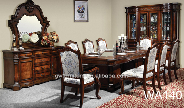 wholesale classic italian dining room sets wa147