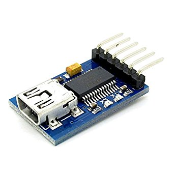 SenMod Arduino GY-232 USB to Serial Ports Converter Cable with FT232RL Chip Downloader