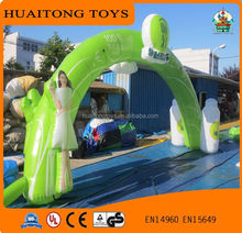 2016 new design fresh PVC inflatable arch rental, advertising inflatable arch for sale.