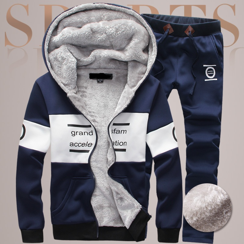 China Factory For Kids Suit Thick Short Hooded coat And Waim Pant