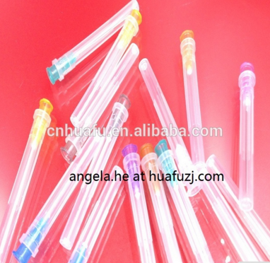 2-part syringe needle/needles printing