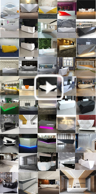 Hot Sales Top Quality Modern Office Reception Desk Design Cash
