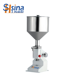 Shsina Commercial hand cream filling machine/facial cream filler machine/oil filling machine