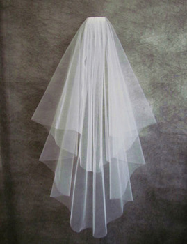 Tulle High Quality Two Layer Wedding Veil Bridal Veils Wedding Accessories