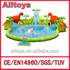 {ALITOYS}the biggest inflatable water park/inflatable products
