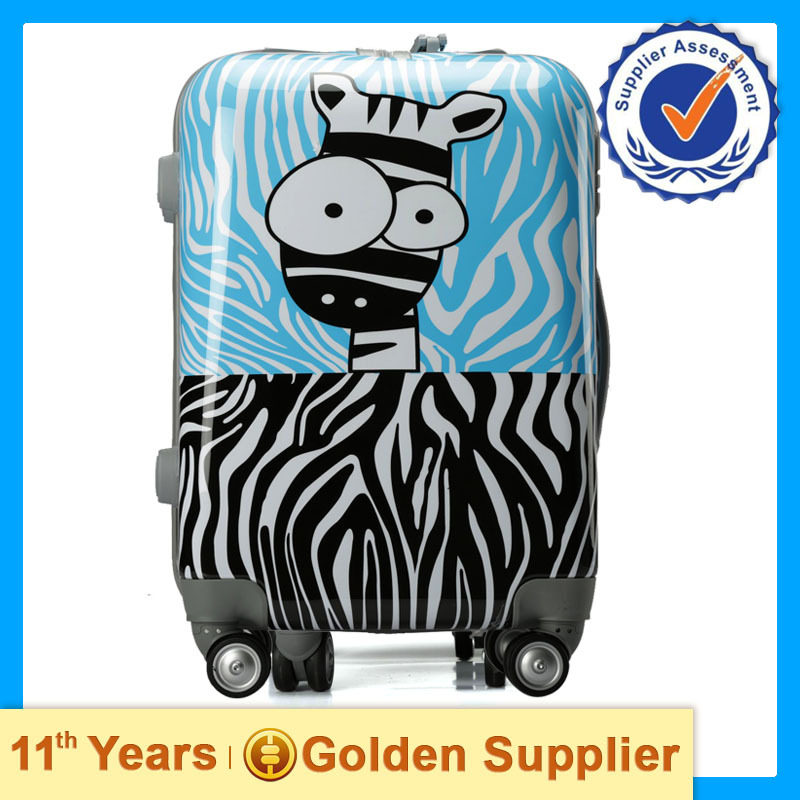 Travel trolley luggage bag,cartoon bags luggages 2017,airport travel luggage with wheel