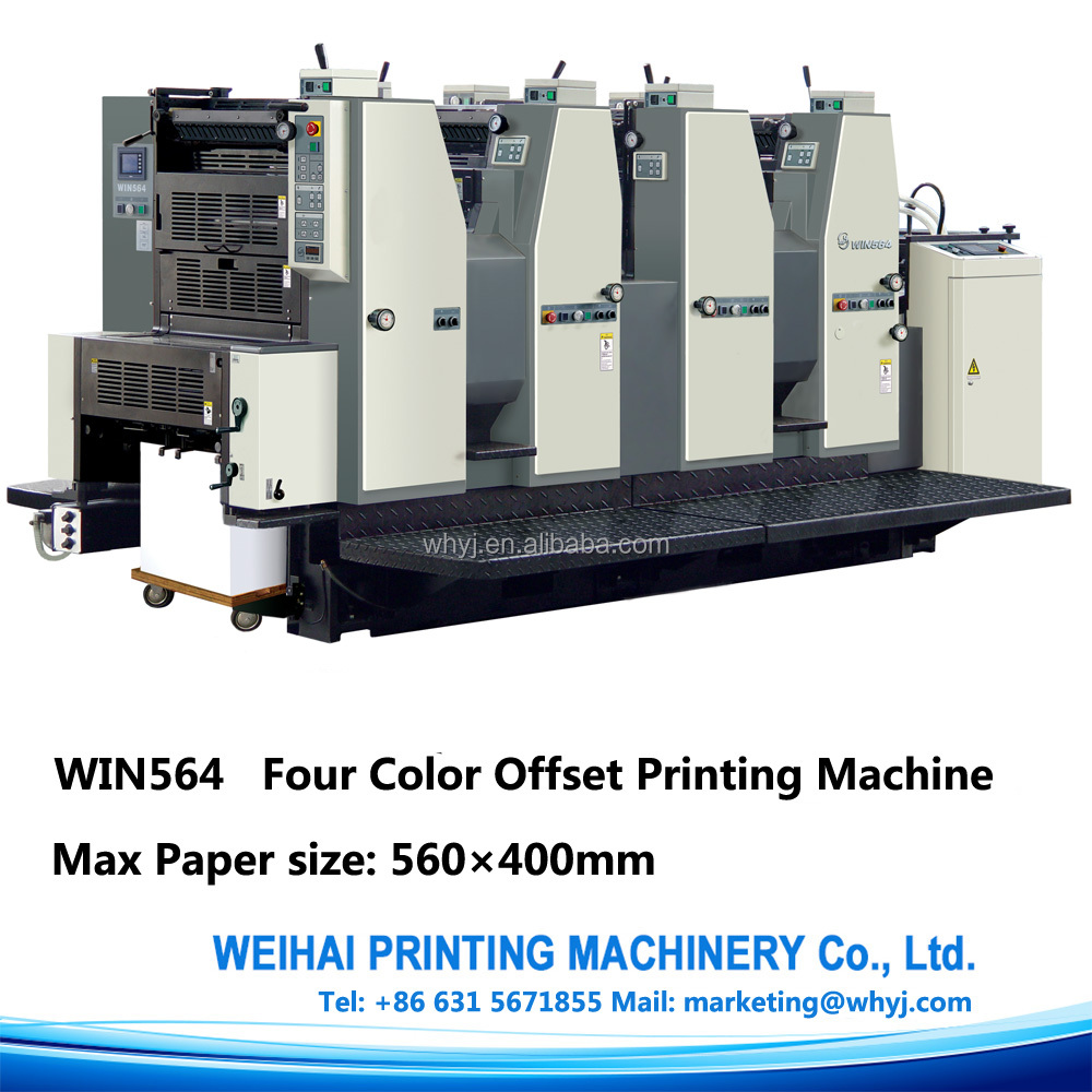 Win564 Small 4 Colour Offset Printing Machine For Manual Printing Shandong  Famous Trademark - Buy Small Offset Printing Machine,4 Colour Flexo Printing  ...