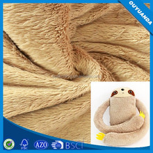 Polyester China Factory Long Hair Fur Fabric Plush Fabric for Home Textile,Toy