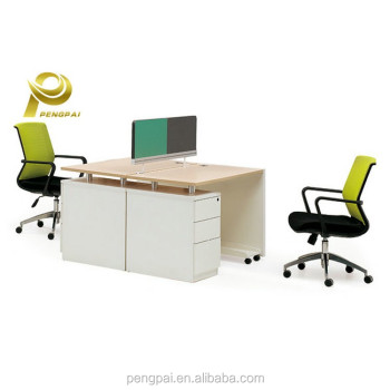 china victory colorful paravent office furniture 2 person workstation