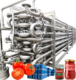 500kg/h processing line for tomato ketchup/ tomato sauce and tomato paste dilution packaging machine