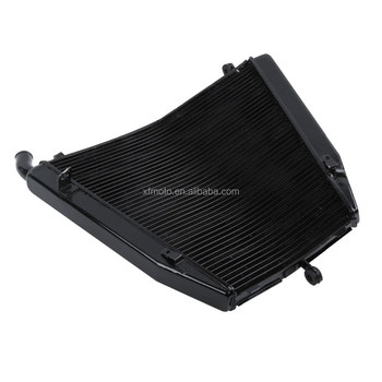 Motorcycle Aluminum Black Radiator Cooler For Honda CBR1000RR CBR 1000RR 06-07
