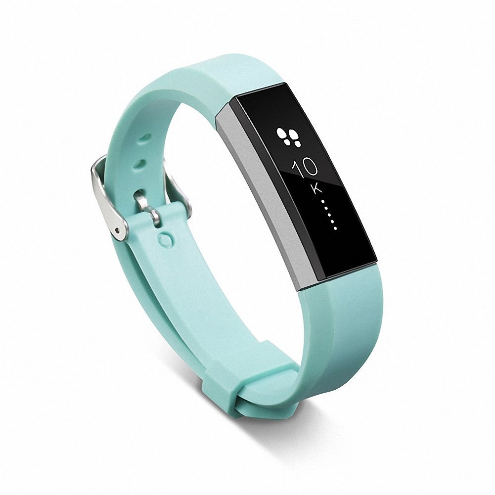 For Fitbit Alta Band,Gentman Silicone Replacement Band Sport Strap Wristband with Metal Clasp for Fitbit Alta Activity Tracker