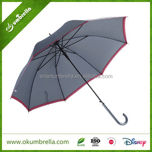 Fashion parasol cute women straight lace umbrella for wedding
