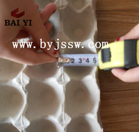 Recycled Paper Egg Packaging Tray Material (Good Quality)