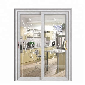Commercial High- Grade Security Aluminium glass house Laminated Glass Door