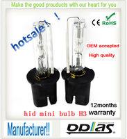 HID manufacturer *35W 55W * H3 6000k hid xenon bulb