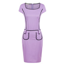 JS 20 passed ISO9001 test great selection modern casual ladies official dresses