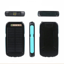 Intelligent Portable ROHS Multifunctional Sun Energy Power Bank Cell Phone Tablet Power Battery
