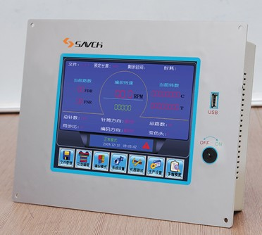 Sanch KSA-580 thread/color adjustment controller for knitting machine