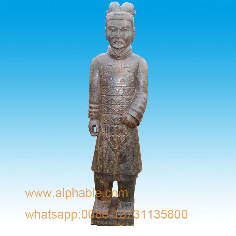 Beau Chinese Antique Stone Terracotta Warrior Garden Statue   Buy Terracotta Warrior  Garden Statue,Terracotta Warrior,Warrior Statue Product On Alibaba.com