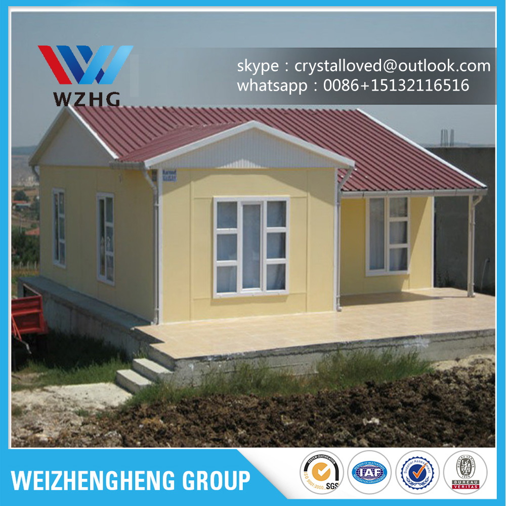 Hot Sale Fast Construction Low Cost Prefab House, Light Steel Villa