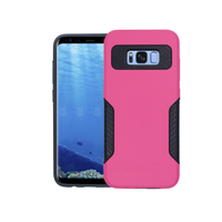 For samsung s8 business style armor hybrid mobile phones case for samusng s8 plus cover