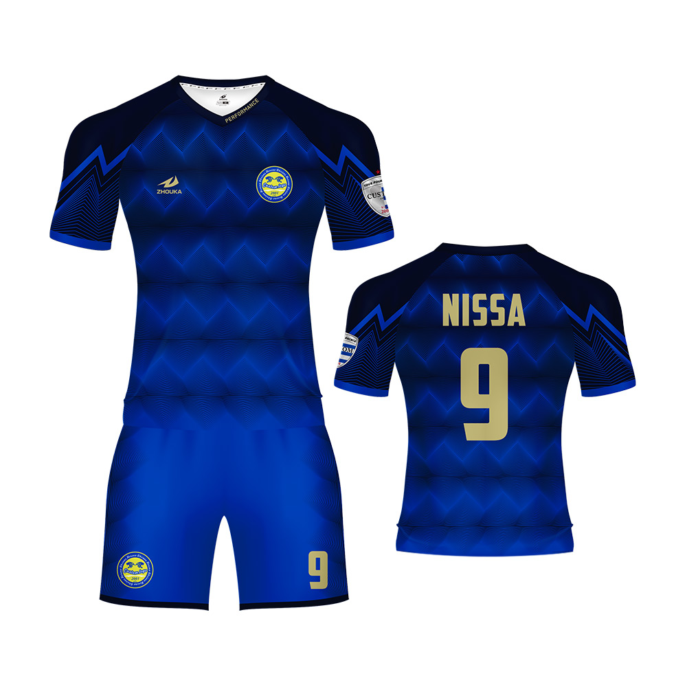 Custom Soccer Uniform Kits Cheap Soccer Shirts Sublimated Football