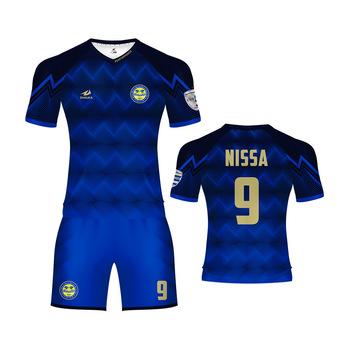 De uniforme de fútbol kits de fútbol baratos camisas sublimados camisetas  ... 25ba8986dbefb