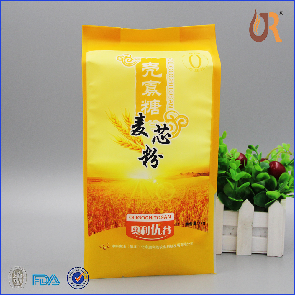 10kg wheat flour rice laminated aluminum foil packaging bag Manufacturers