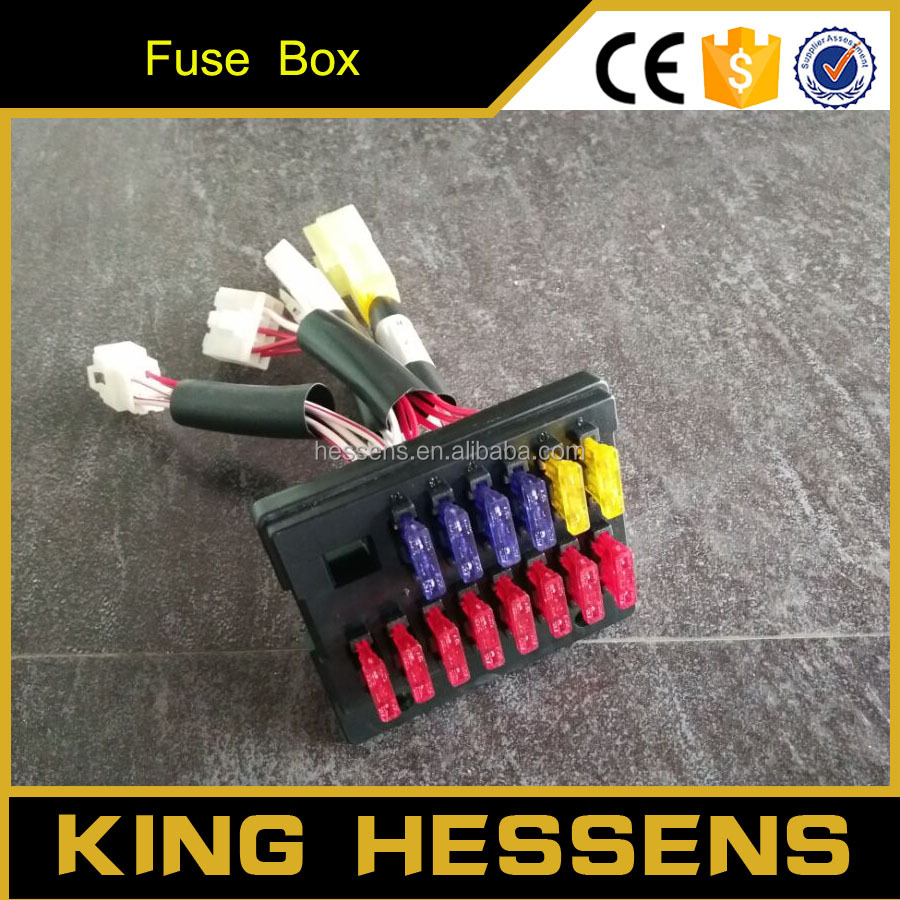 Hot Sale DH60 Auto Fuse Box for excavator fuse box, excavator fuse box suppliers and manufacturers hot fuse box at mifinder.co