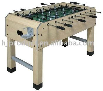 FOOSBALL TABLE   TOURNAMENT STYLE NEW! 5FT PUB SIZE SOCCER/FOOSBALL TABLE;  WOODEN