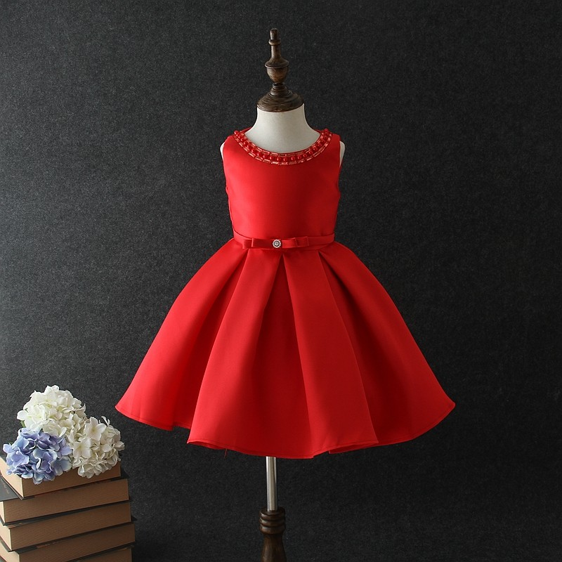Toddler Christmas Dresses.Beautiful Sleeveless Solid Color Kid Christmas Dress Party Wear Buy Kids Christmas Party Dresses Kids Party Wear Dresses Beautiful Party Dresses