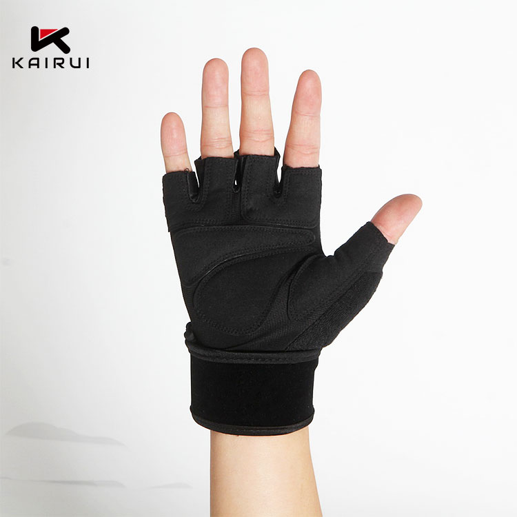 Sport training mezza finger gloves palestra/fitness guanti di allenamento