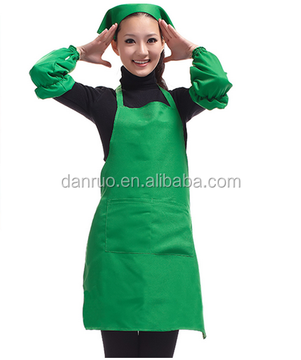 Custom apron Korean home aprons advertising promotions Wai Su - simple fashion printing embroidery logo