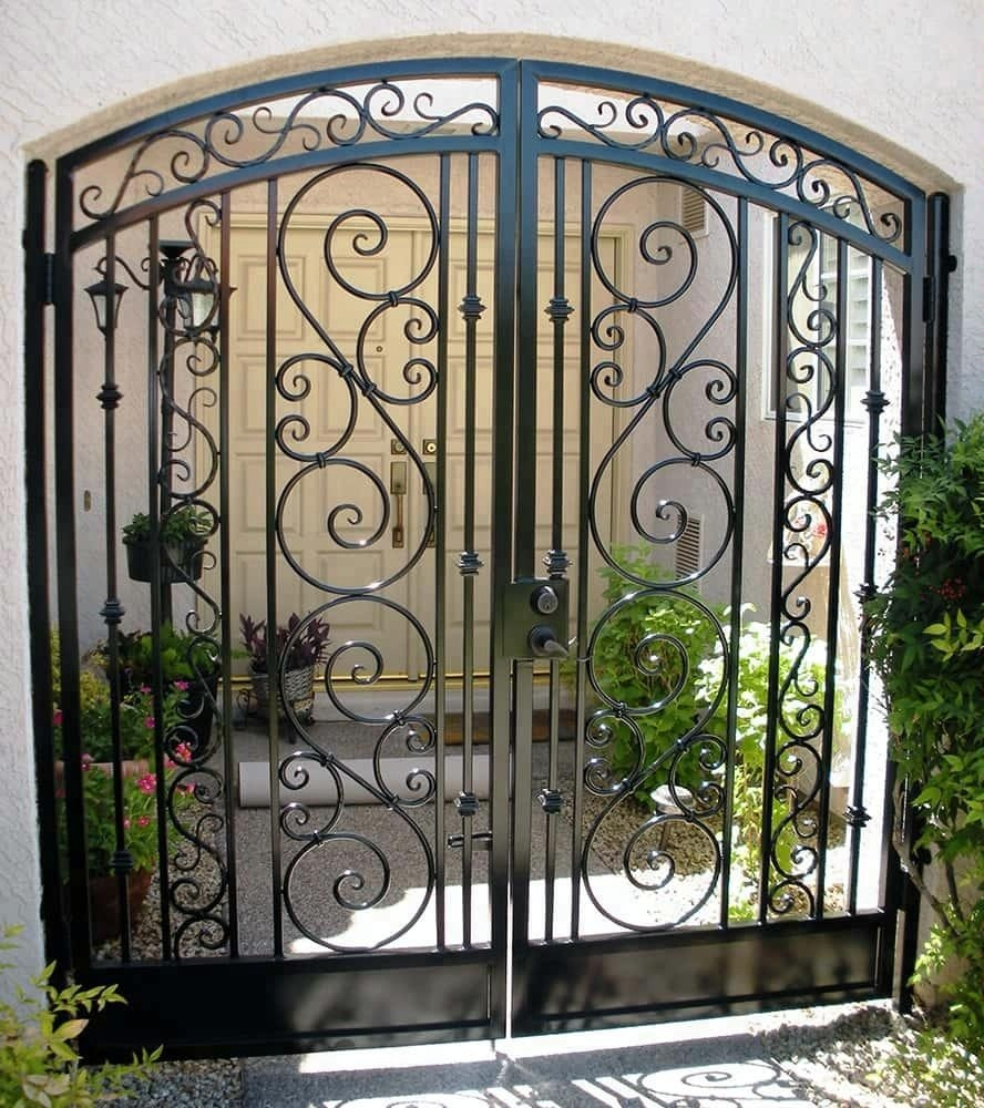 Decorative Wrought Iron Gate Designs,Sliding Gate Design,Modern
