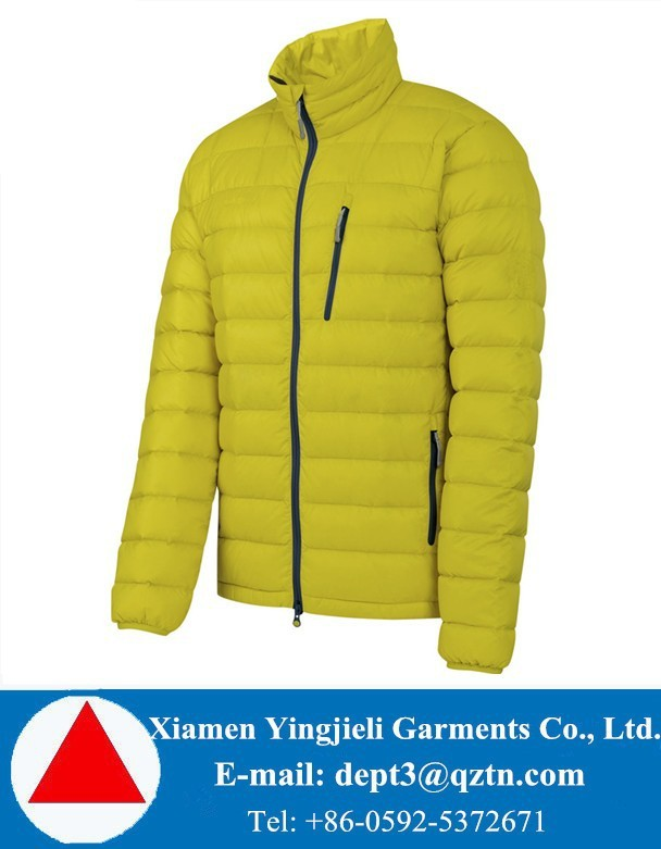 750 Fill Men Down Jacket For The Winter Lightweight Thick Winter Down Jacket