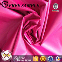 high quality 100% polyester taffeta/polyester taffeta/plain woven fabric polyester taffeta